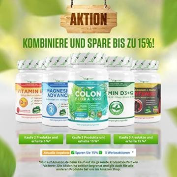 Astaxanthin 12 mg, 70 Softgel Kapseln zum Sonderpreis, Neue Version, starker natürlicher Antioxidant, Hohe Bioverfügbarkeit, Vit4ever - 7