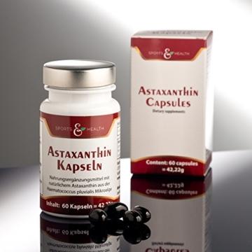 Astaxanthin Kapseln - 2 Monatsvorrat - Ohne Magnesiumstearat - 3