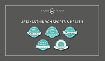 Astaxanthin Kapseln - 2 Monatsvorrat - Ohne Magnesiumstearat - 5