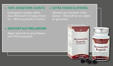 Astaxanthin Kapseln - 2 Monatsvorrat - Ohne Magnesiumstearat - 6