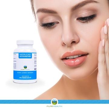 Astaxanthin Kapseln • Starkes Antioxidans • Schnellere Erholung • 100% Natürlich • 200 Softgels = mehr als 6 Monatsvorrat • Bekannt aus dem TV! • Hergestellt in Deutschland - 2