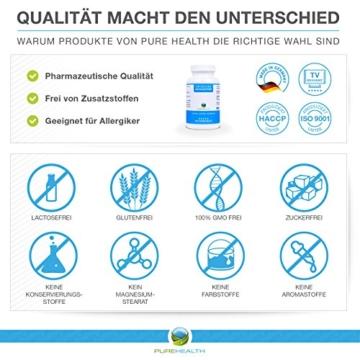 Astaxanthin Kapseln • Starkes Antioxidans • Schnellere Erholung • 100% Natürlich • 200 Softgels = mehr als 6 Monatsvorrat • Bekannt aus dem TV! • Hergestellt in Deutschland - 4