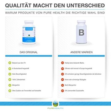 Astaxanthin Kapseln • Starkes Antioxidans • Schnellere Erholung • 100% Natürlich • 200 Softgels = mehr als 6 Monatsvorrat • Bekannt aus dem TV! • Hergestellt in Deutschland - 5