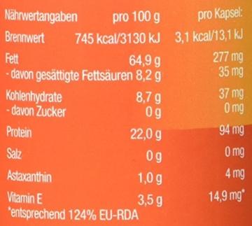 Astaxanthin - versandkostenfrei - VitalAstin 300 Kapseln - Das Original Ivarssons VitalAstin mit 4 mg natürlichem Astaxanthin - Antioxidans - 2