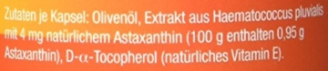 Astaxanthin - versandkostenfrei - VitalAstin 300 Kapseln - Das Original Ivarssons VitalAstin mit 4 mg natürlichem Astaxanthin - Antioxidans - 3