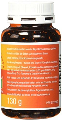 Astaxanthin - versandkostenfrei - VitalAstin 300 Kapseln - Das Original Ivarssons VitalAstin mit 4 mg natürlichem Astaxanthin - Antioxidans - 5