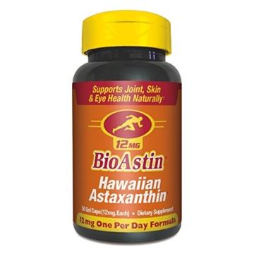 Nutrex, BioAstin, Hawaiian Astaxanthin, 12 mg, 50 Gel Caps - 1
