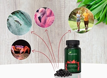 PREMIUM Natürliches Astaxanthin (HAWAII) + Vitamin E | 90 Kapseln | Hochwertiger Rohstoff (Haematococcus pluvialis) aus HAWAII | Vegane Softgel Kapseln | Starke Antioxidantien | Vegavero: from Nature - with Passion - for You! - 5