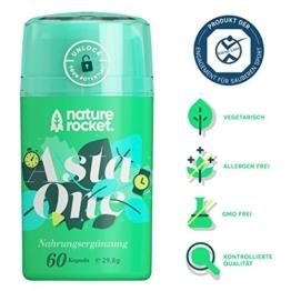 Natürliches Premium Astaxanthin 4mg Antioxidans Nahrungsergänzungsmittel 60 Kapseln mit je 88mg Mikroalge Vitamin C, E - 1